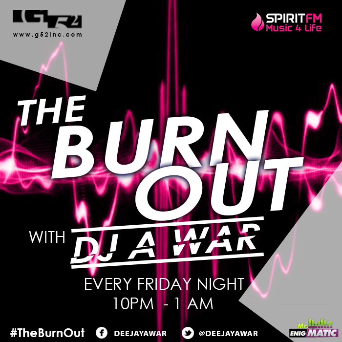 The Burn out-SpiritFM -1