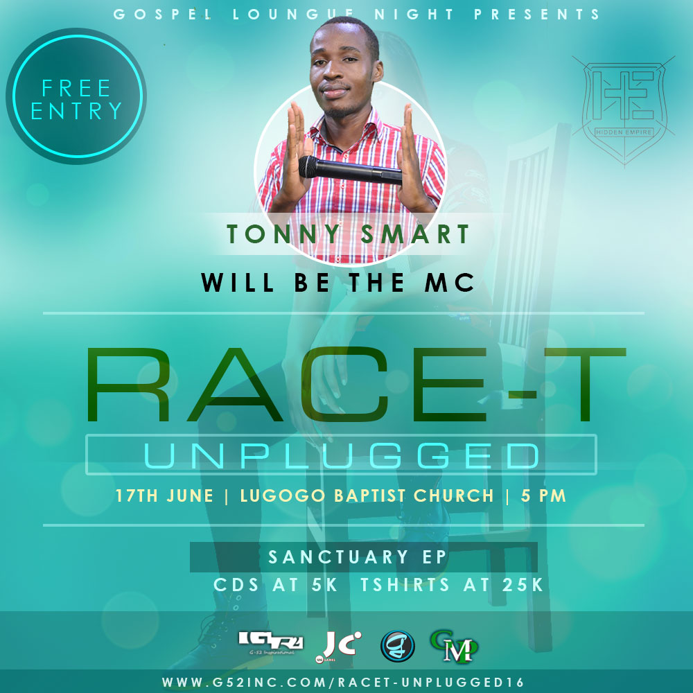 TONY SMART-RACE-T UNPLUGGED 2016